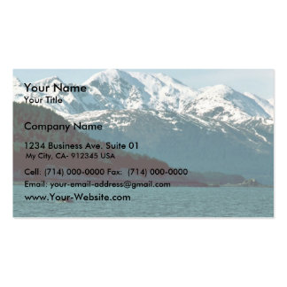 Humpback Whale Breaching in Southeast Alaska Pack Of Standard Business Cards