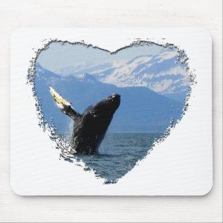Humpback Whale Breaching Mousepad