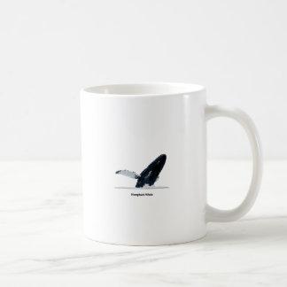 Humpback Whale Breaching Coffee Mugs