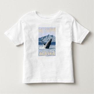 Humpback Whale - Latouche, Alaska Toddler T-Shirt