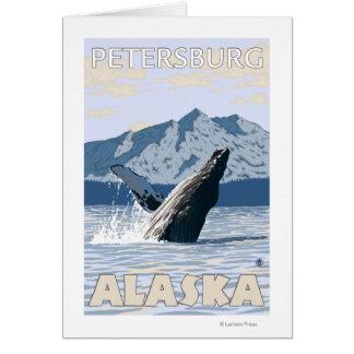 Humpback Whale - Petersburg Alaska Cards