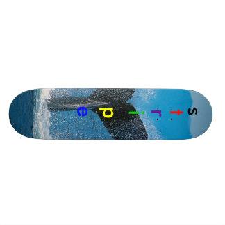 Humpback Whale, s, t, r, i, p, e Skate Boards