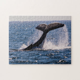 Humpback Whale Tail Fluke Jigsaw Puzzle