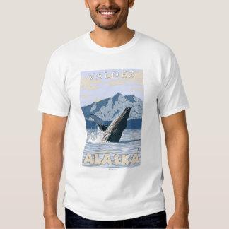 Humpback Whale - Valdez, Alaska Tees