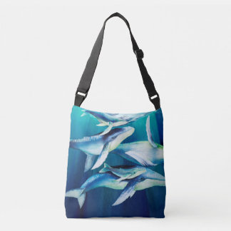 Humpback Whales Crossbody Bag