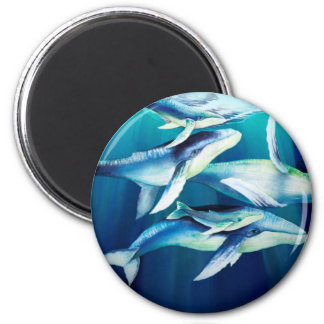 Humpback Whales Magnet