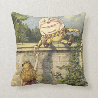 Humpty Dumpty Alice in Wonderland Pillow