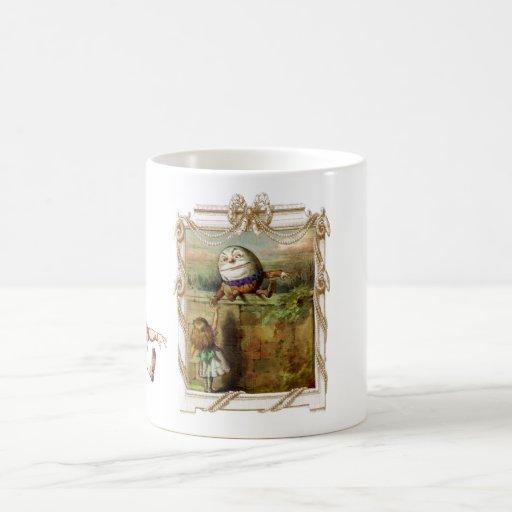 Humpty Dumpty and Alice Mug