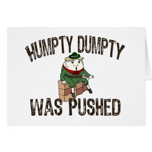 Humpty Dumpty Greeting Cards