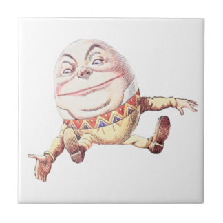 Humpty Dumpty Color Small Square Tile