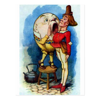Humpty Dumpty Full Color Postcard