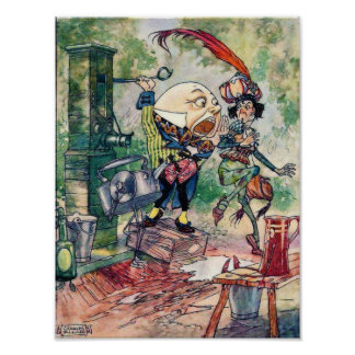 Humpty Dumpty in Wonderland Poster