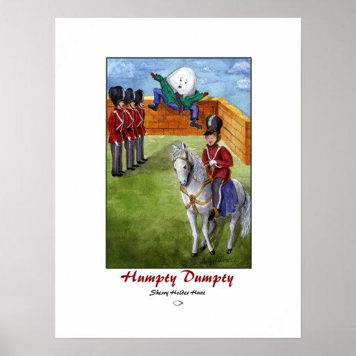 Humpty Dumpty Print