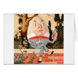 Humpty Dumpty Sat On a Wall in Wonderland