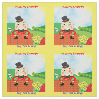 Humpty Dumpty Sat On A Wall Nursery Rhyme Design