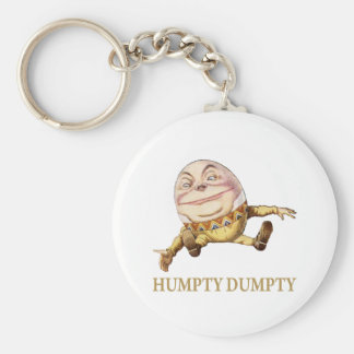 HUMPTY DUMPTY SAT ON A WALL - NURSERY RHYME KEY RING