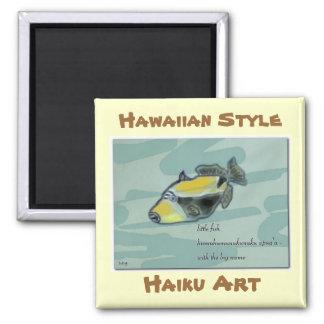 Humuhumunukunuku apua'a Haiku Art Magnet