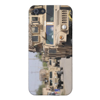 Humvee's conduct security during a patrol iPhone 5 case