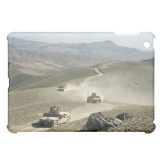 Humvees traverse rugged mountain roads case for the iPad mini