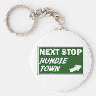 Hundie Town Keychain
