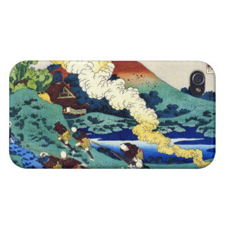 Hundred Poems Explained by the Nurse Hokusai Case For iPhone 4