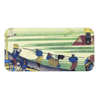 Hundred Poems Explained by the Nurse Hokusai iPhone 5 Covers