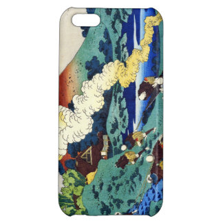 Hundred Poems Explained by the Nurse Hokusai iPhone 5C Cases