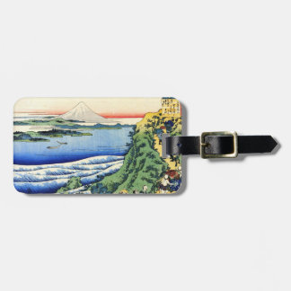 Hundred Poems Explained by the Nurse Hokusai Luggage Tag