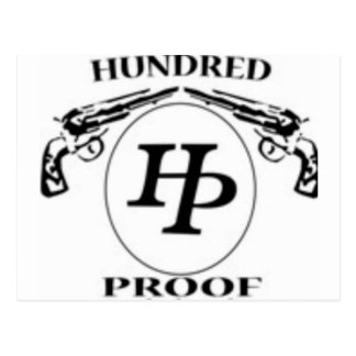 HundredProofOfficial Products Postcard