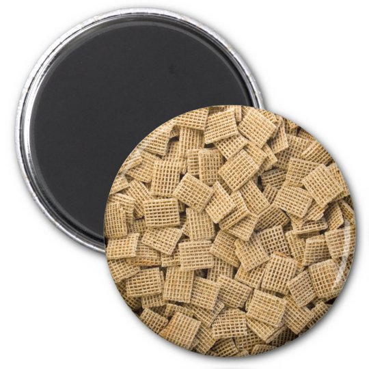Hundreds Of Whole Grain Cereals 6 Cm Round Magnet