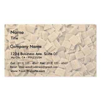 Hundreds Of Whole Grain Cereals Business Card