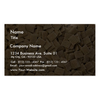 Hundreds Of Whole Grain Cereals Business Card Templates