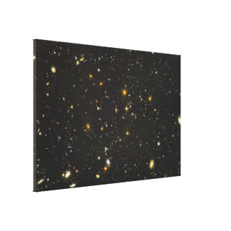 Hundreds of Young Galaxies Gallery Wrap Canvas