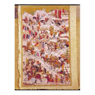 Hunername' manuscript: Suleyman Postcard