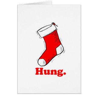 Hung Card