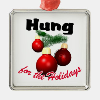 Hung for the Holidays Christmas Ornament
