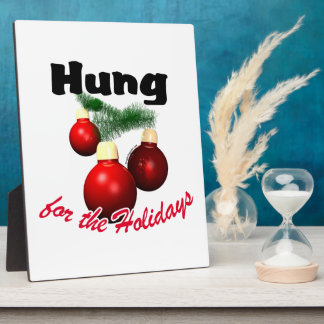 Hung for the Holidays Photo Plaques