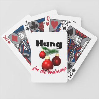 Hung for the Holidays Bicycle Card Deck