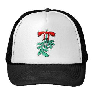 Hung Misteltoe Hats