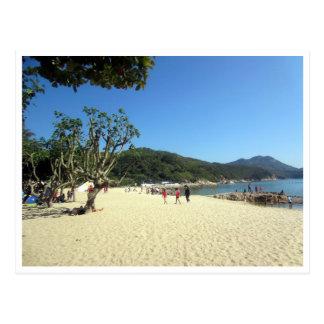 hung shing yeh beach postcard