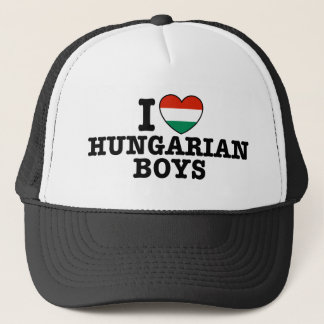 Hungarian Boys Trucker Hat