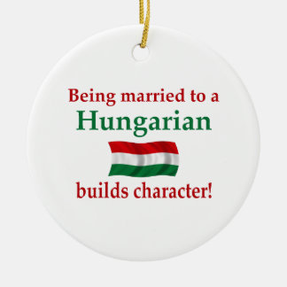 Hungarian Builds Character Christmas Ornament