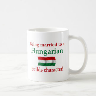 Hungarian Builds Character Coffee Mug