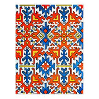 Hungarian Design Postcard