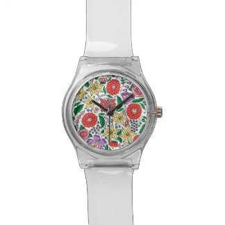 Hungarian embroidery inspired watch