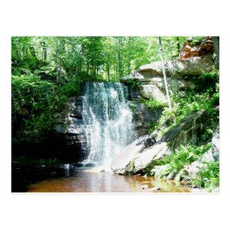 hungarian falls postcard