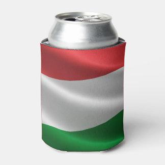 Hungarian Flag custom monogram can cooler