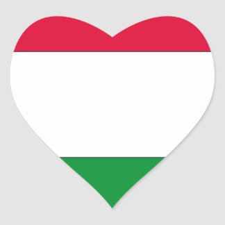 Hungarian Flag Flag of Hungary Sticker