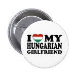 Hungarian Girlfriend 6 Cm Round Badge