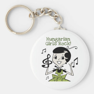 Hungarian Girls Rock Key Ring